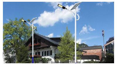 太阳能led路灯大限度减少基本建设成本费并确保应用安全性