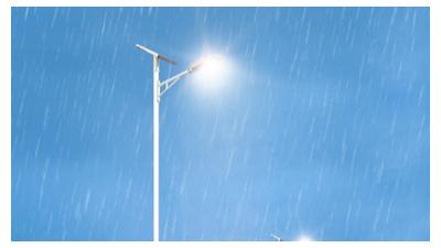 针对新农村太阳能路灯工程各构件材料挑选是很高度重视的