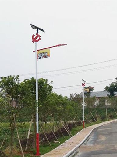 海南省琼中县安装中国特色太阳能路灯