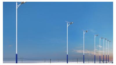 太阳能led路灯的销售量逐渐增加