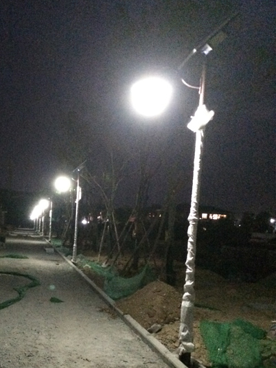 陕西省咸阳市太阳能路灯工程案例