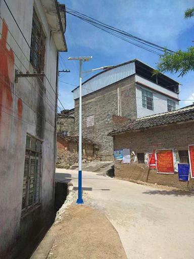 海南省海口市龙华区太阳能道路灯捐赠项目