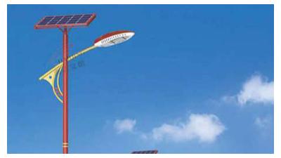 LED太阳能路灯已成新农村道路照明选择