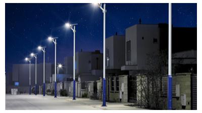 乡村led太阳能路灯的规定不能与城市应用的规定对比