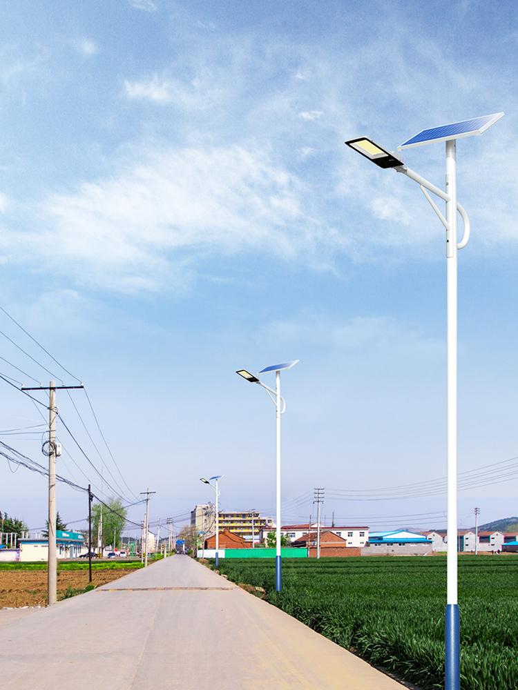 太阳能led路灯_乡村太阳能路灯_6米太阳能路灯