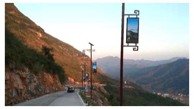 选南德太阳能路灯 照明未来应用前景十分看好