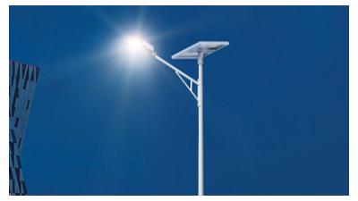 太阳能led路灯是新照明新项目的翠绿色代替品