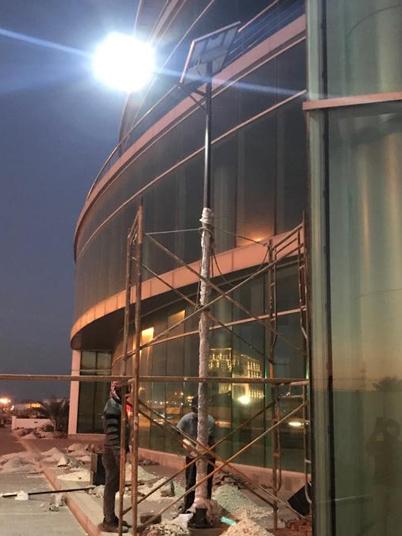 阿曼-50W太阳能路灯工程案例