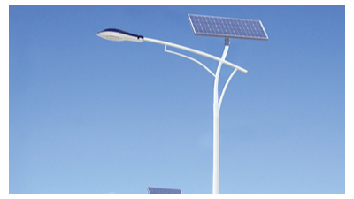 led太阳能路灯从源头上处理在农村安裝上的难题