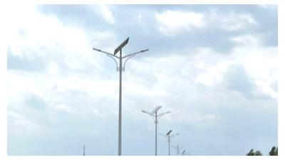 贵州新农村建设8米太阳能路灯多少钱一个
