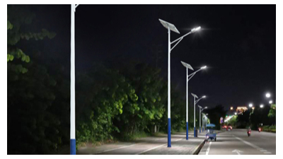 太阳能路灯厂家生产的精确性