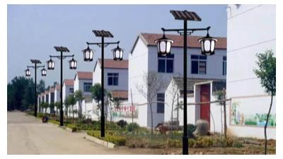 小区太阳能路灯间距多少最合适?
