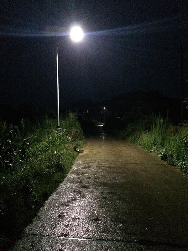 湖南省邵阳市桥头镇太阳能路灯工程案例
