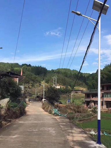 湖北创业有成不忘乡亲 他出资5万为村里装太阳能路灯