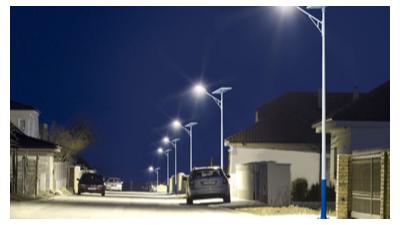 判断一盏太阳能路灯质量是好是坏,可以从以下4点分析
