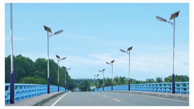 含有民族风格的太阳能路灯新起