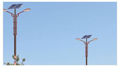 新农村建设太阳能路灯安裝四大步骤