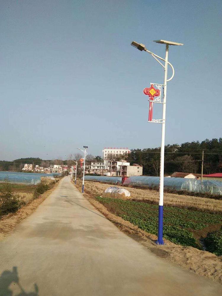 中国结太阳能路灯_LED太阳能路灯_南德太阳能路灯厂家