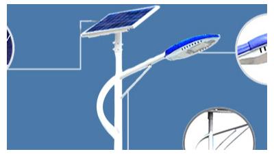 太阳能路灯安裝整体上较为划得来