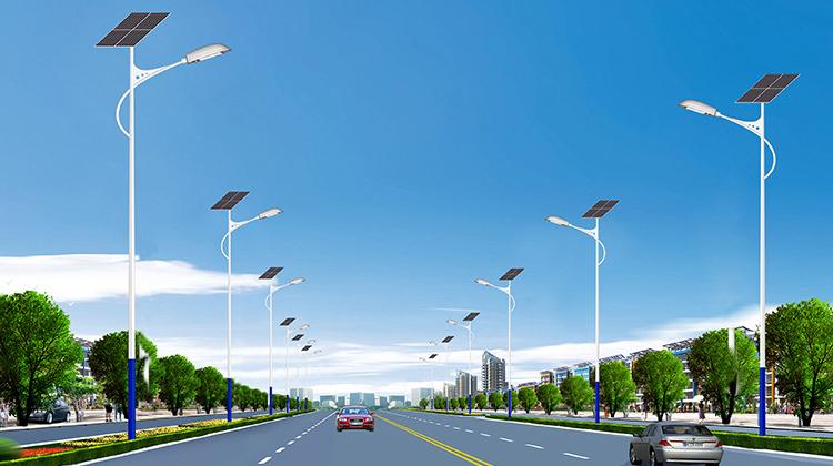 道路太阳能路灯_太阳能LED路灯_南德太阳能路灯生产厂家