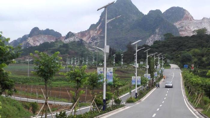 中山南德太阳能路灯路灯厂家 新农村建设路灯供应商