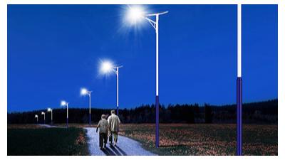 太阳能led路灯能够完成按需照明灯具