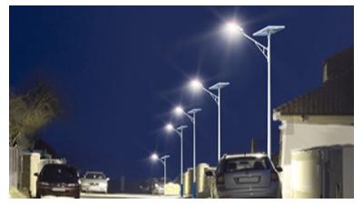 太阳能led路灯在农村路灯照明销售市场的发展趋势更火爆