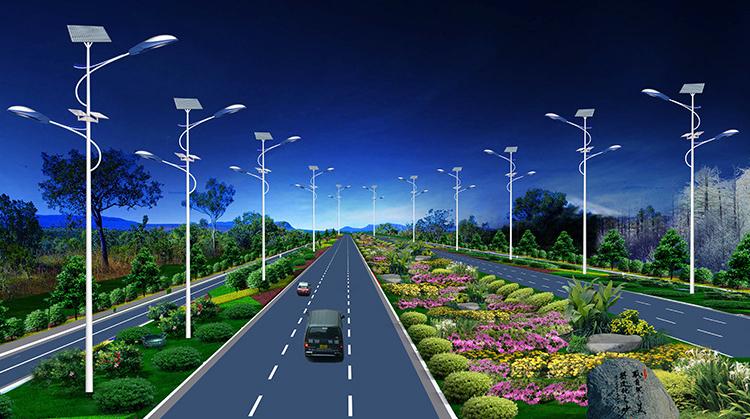 太阳能路灯_LED太阳能路灯_南德太阳能