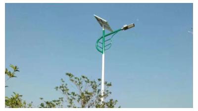 太阳能路灯一味追求价钱而忽略质量的后果