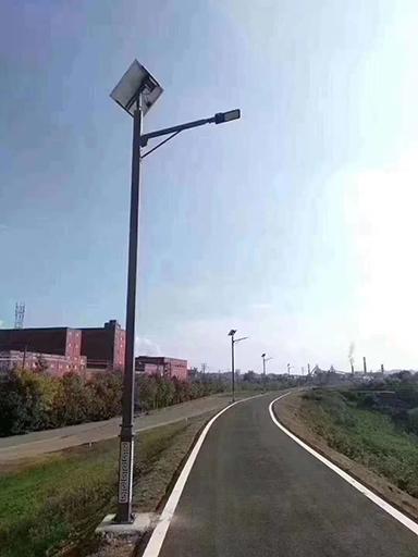 """甘肃定西:太阳能路灯亮进家!漂亮三源""""靓""""起来了"""
