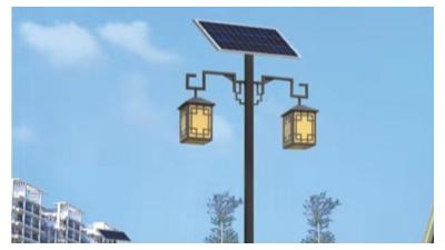 太阳能仿古路灯哪个厂家更好?