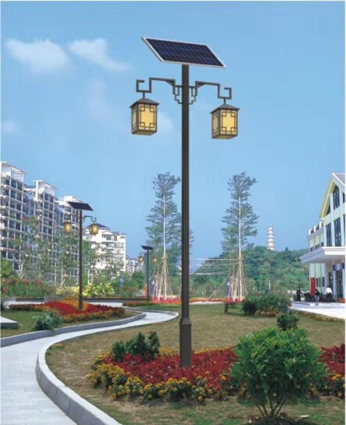 太阳能仿古路灯 太阳能庭院灯 南德太阳能