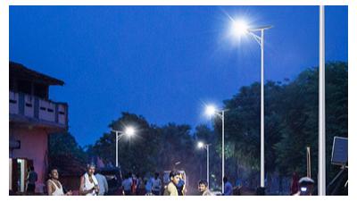 led太阳能路灯实际推行设备中应留心