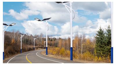 太阳能led路灯变成优先选择考虑到的照明设备