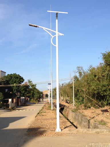 广东惠州太阳能LED路灯工程案例