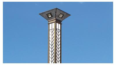 适用生态公园和城市广场的太阳能景观灯照明