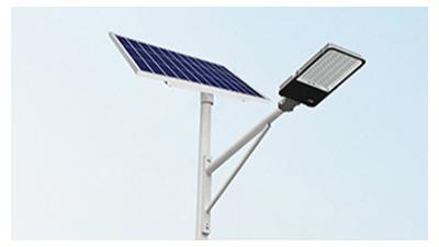 安裝新农村太阳能路灯碰到高压线怎么处理?