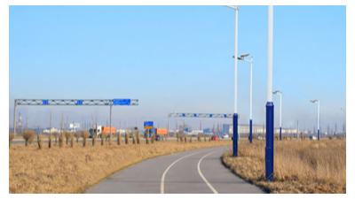 6m新农村太阳能路灯在渐渐地的被普遍运用