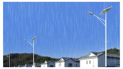 led太阳能路灯生产厂家要占领农村大型商场市场份额的方式