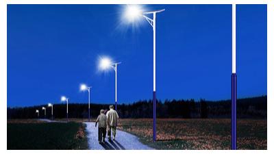 南德太阳能路灯40w的配置价格表
