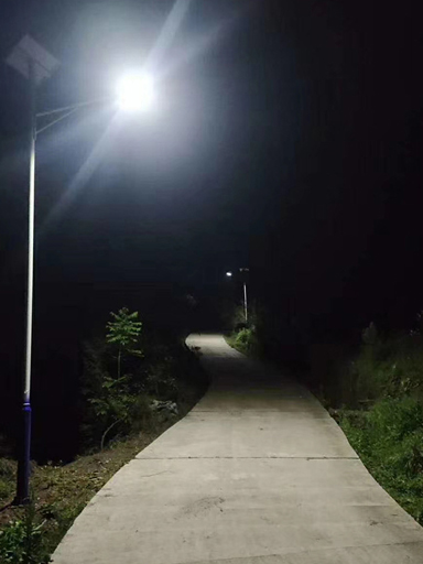 南德太阳能路灯走进湛江遂溪杨柑镇