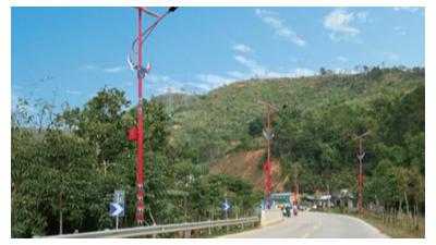 广东太阳能路灯厂家谈路灯使用寿命受什么因素危害