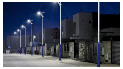 LED太阳能路灯灯头为什么要选择压铸铝材质?