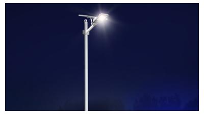 太阳能led路灯的亮度和什么有关