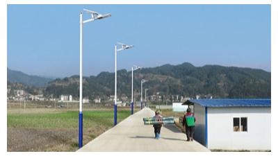 农村led太阳能路灯价格在于是安装在哪儿