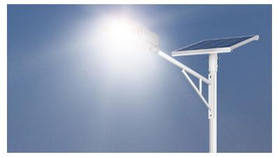 乡村led太阳能路灯安裝时要查询是不是被挡住