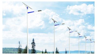 南德太阳能路灯厂家解析太阳能路灯的亮灯时间变短的问题