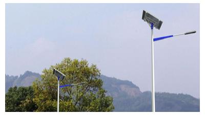 太阳能路灯安装需要注意的四点