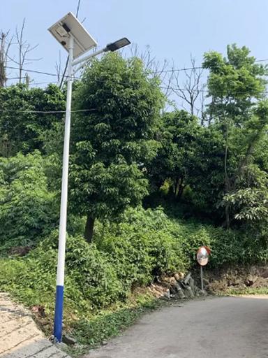 广西省钦州市小董镇太阳能路灯工程案例