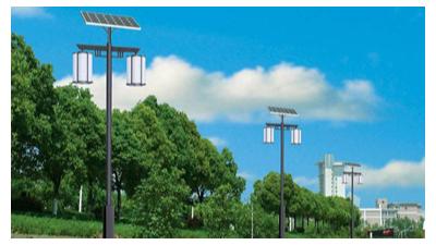 中山太阳能仿古路灯厂家—南德太阳能